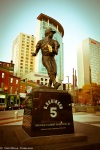 Brooks Robinson statue at Camden Yards