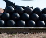 Cannon Balls, Ft McHenry