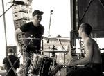 Singer & Drummer, Loving the Lie, Charm City Music Fest
