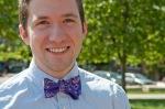 Boy in purple bow tie