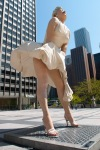 Marilyn Monroe 26-foot statue, Chicago